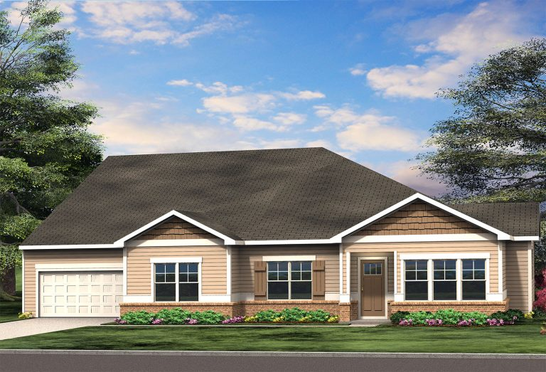 55+ community in loganville with new open floor plans