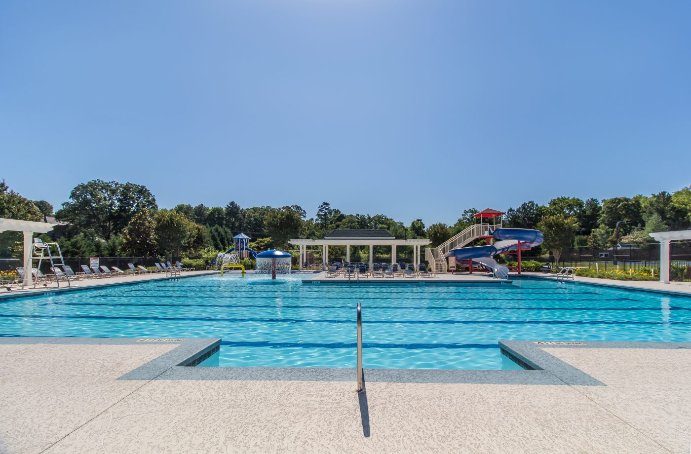 Traditions of Braselton Pool Entry