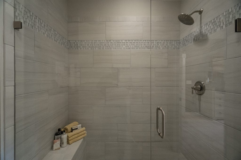 Oversized Shower in Active Adult Community