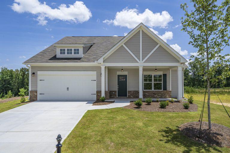 New homes at Oakleigh Pointe in Dallas Georgia