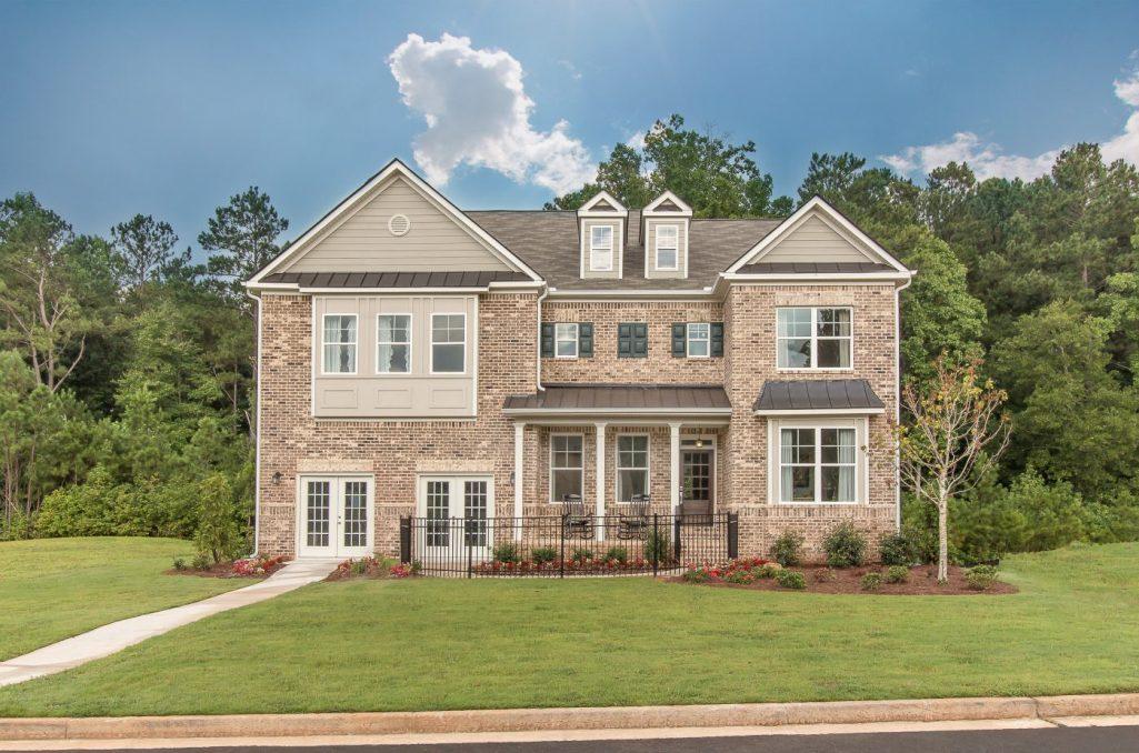 New Homes in Dallas Georgia's Oakleigh Pointe