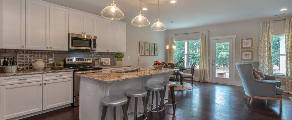 A paran homes kitchen - New home open floor plan
