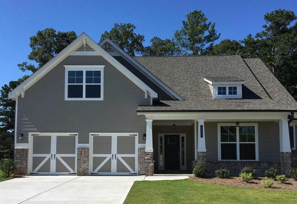Bradford Ranch Floor Plan in Magnolia Court - New Homes in Marietta
