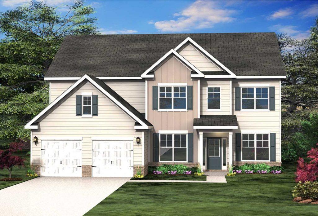 Piedmont Two-Story Floor Plan
