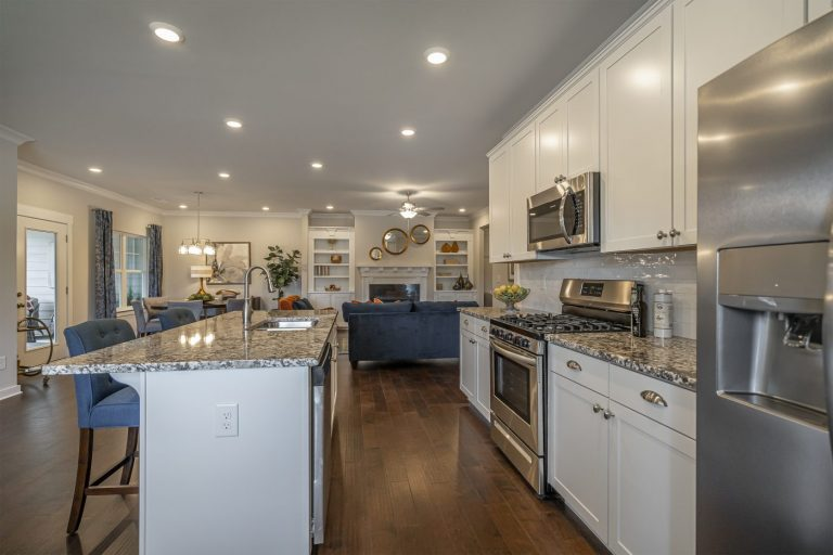 a kitchen in seaboard junction - an age qualified community