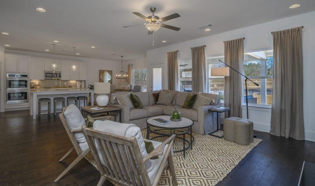 Indoors Living Room Paran Homes
