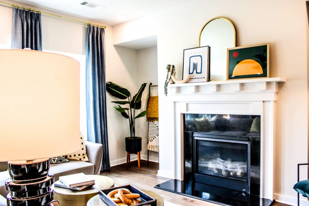 a living room in Sweetwater Landing Townhomes
