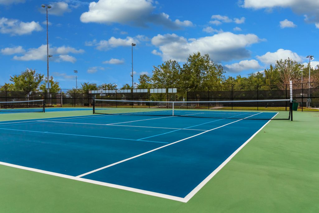 Tennis Courts like those at Big Shanty Park
