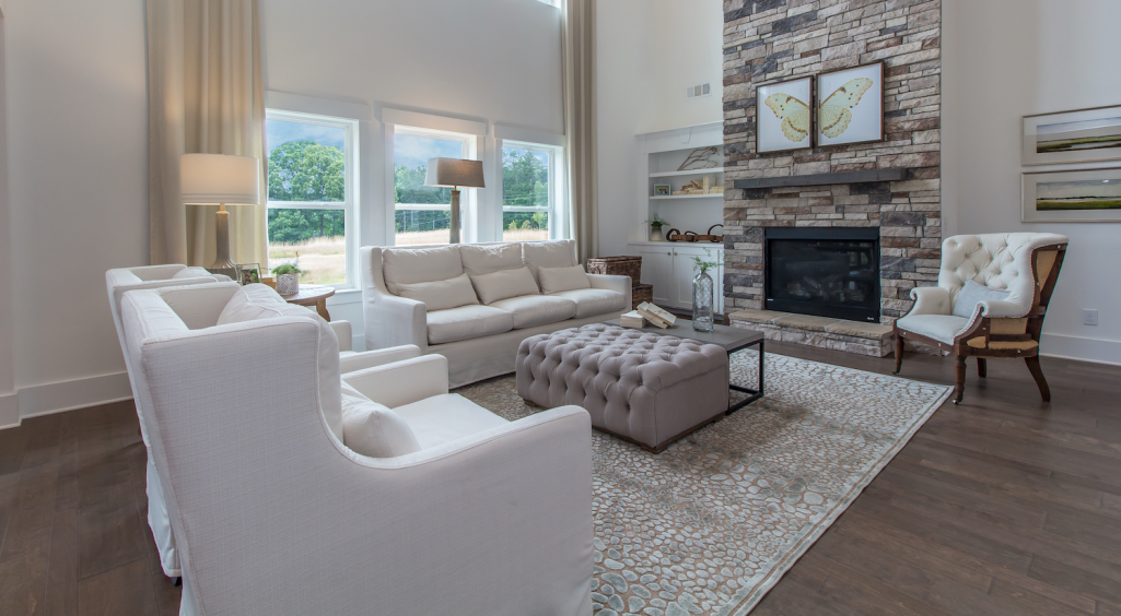 Spacious Family Room in Kirkview Model Home