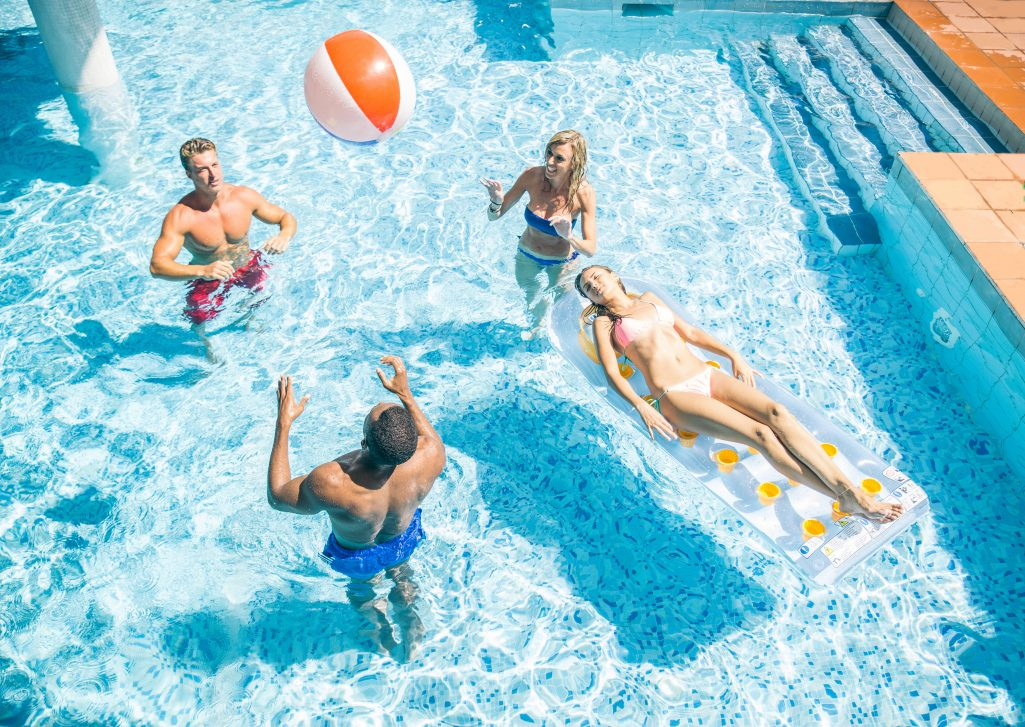 Summer Fun at the Amenities in Sweetwater Landing Townhomes