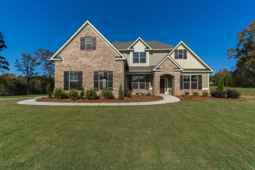 Exterior of the New Comfortable Homes in Braselton