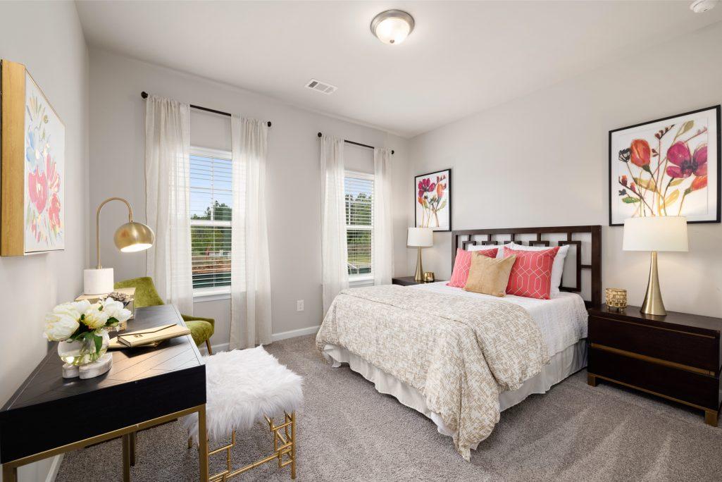 Guest Bedroom in Creekwood, our Powder Springs community