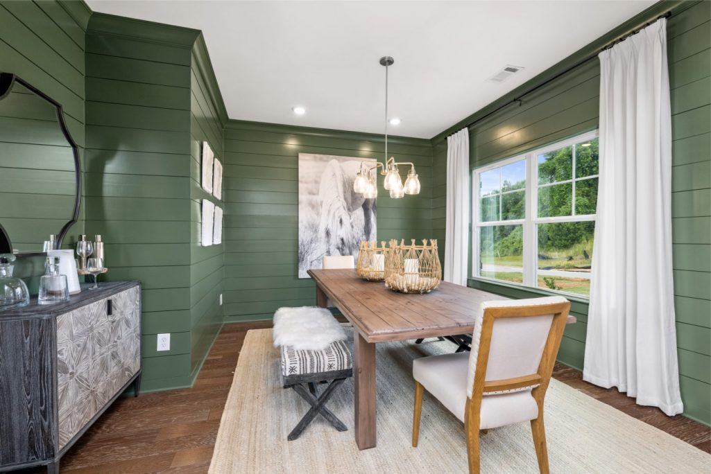 self-care at home includes adding color to your new construction home